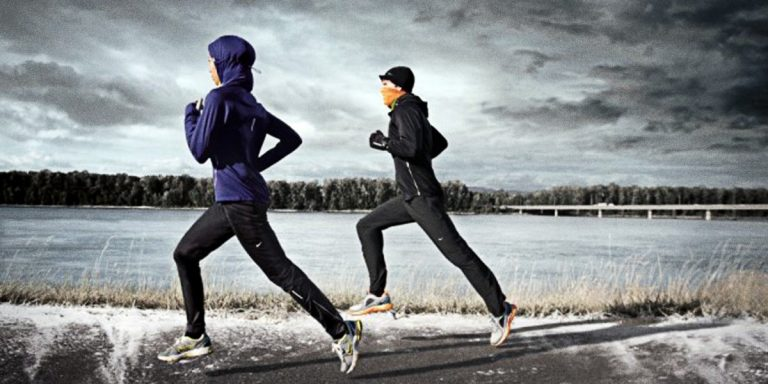 Bieganie zimą, czyli uważaj żeby się nie przegrzać.